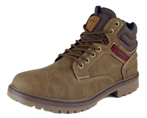 Wrangler - Yukon Brown Lace Up Boots